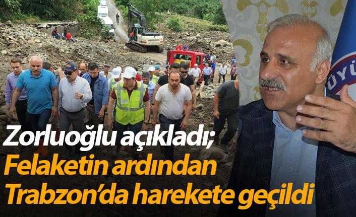 Araklı'daki felaket sonrası Trabzon'da harekete geçiliyor