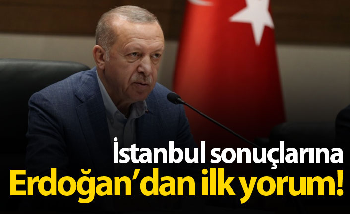 Son Dakika: Erdoğan'dan ilk açıklama!