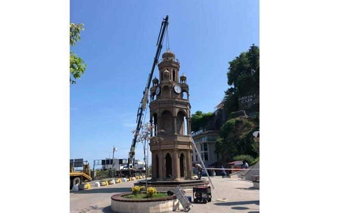O kulenin yıkımı bu sabah uygulandı!
