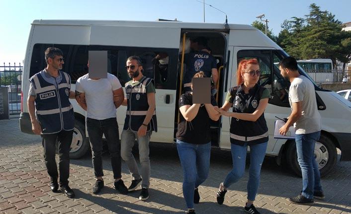 Samsun merkezli change operasyonu: 17 gözaltı