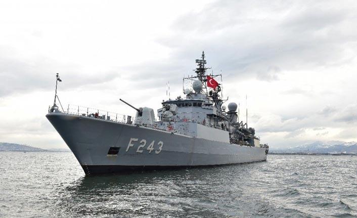 TCG Yıldırım Gemisi Ordu'ya geliyor