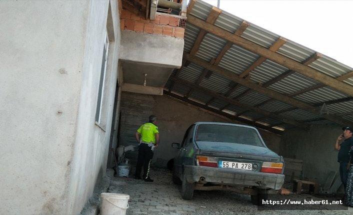 Garajda ölü bulundu