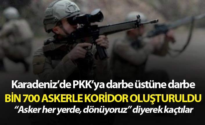 PKK'ya Karadeniz'de bir darbe daha