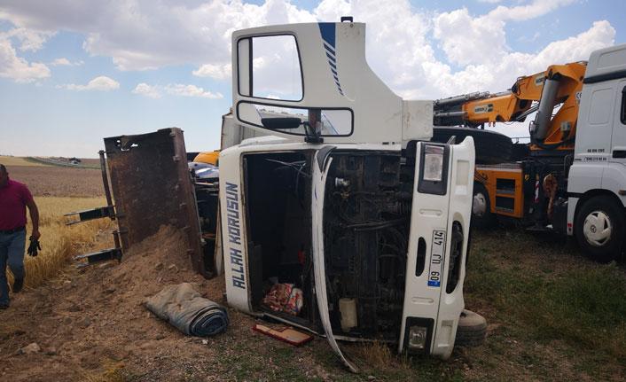 Aksaray'da kaza: 1 yaralı