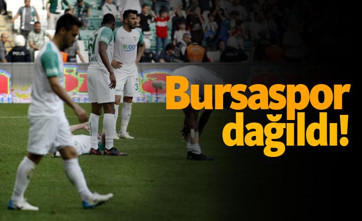 Bursaspor dağıldı!