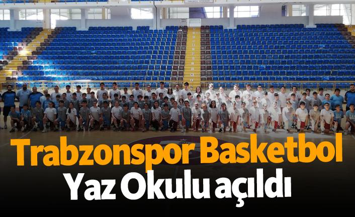 Trabzonspor Basketbol Yaz Okulu açıldı