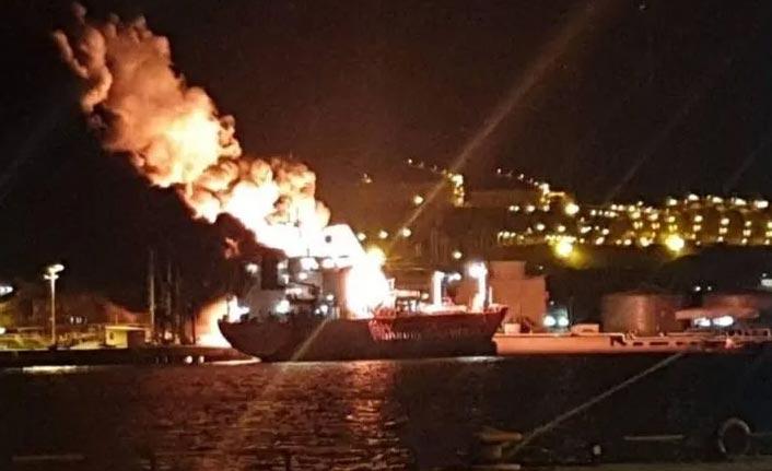 Limanda patlama! 1 ölü, 16 yaralı