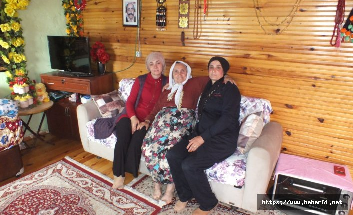 Yalnız yaşayan yaşlılara şefkat eli