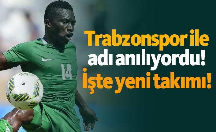 Trabzonspor ile adı anılıyordu! İşte yeni takımı!