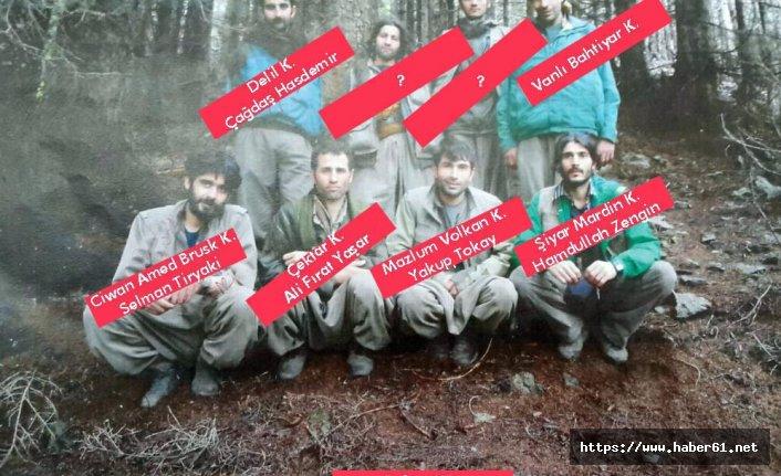 Karadeniz'de teröristlerin planları deşifre oldu
