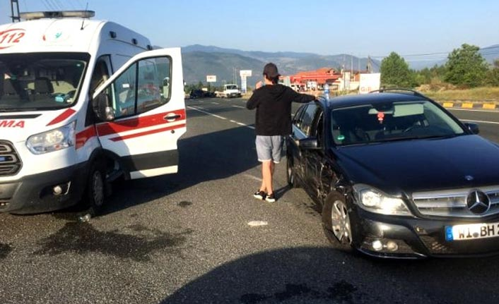Kastamonu'da trafik kazası: 3 yaralı