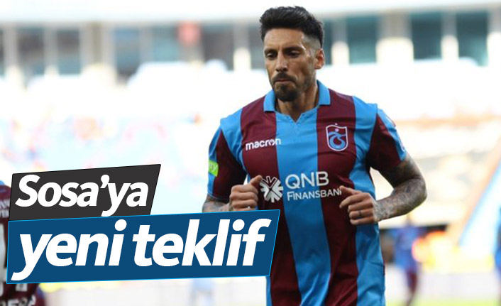 Trabzonspor'da Jose Sosa'ya yeni teklif