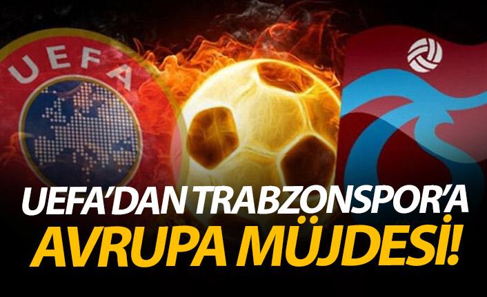 UEFA Trabzonspor kararını açıkladı!