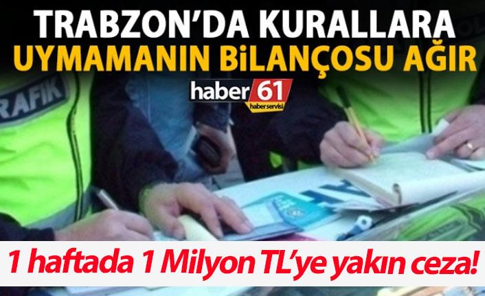 Trabzon'da trafik kurallarına uymamanın bilançosu ağır!