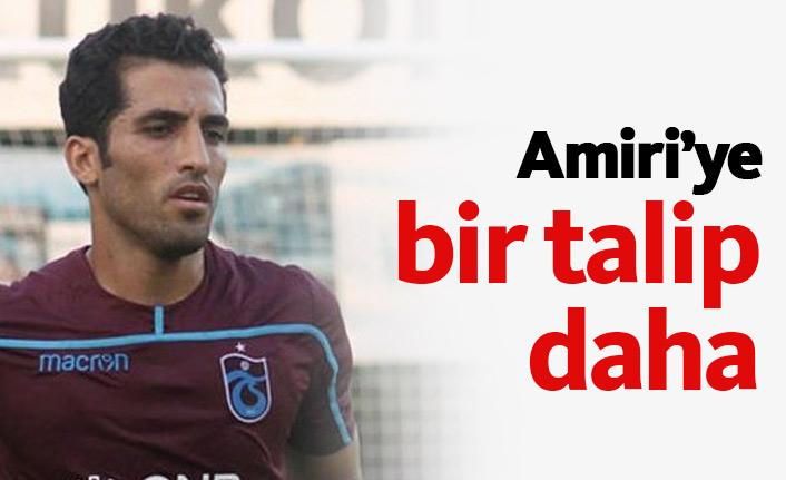 Trabzonspor'da Amiri'ye bir talip daha