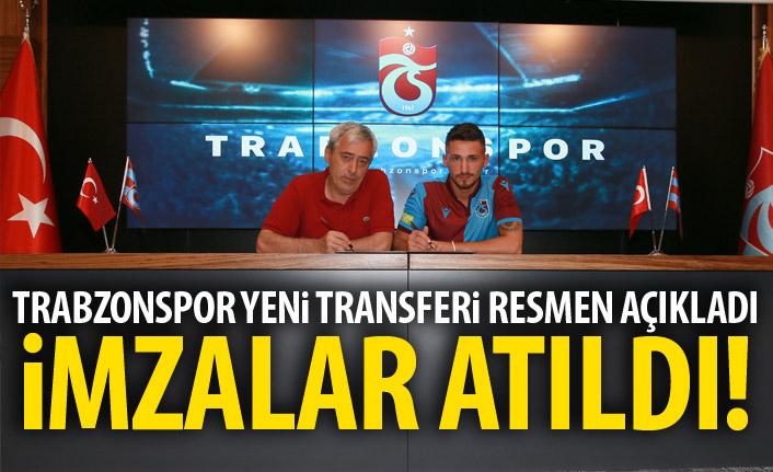 Trabzonspor yeni Transferi resmen açıkladı