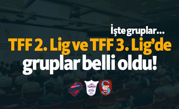 TFF 2. Lig ve TFF 3. Lig'de fikstür çekildi!