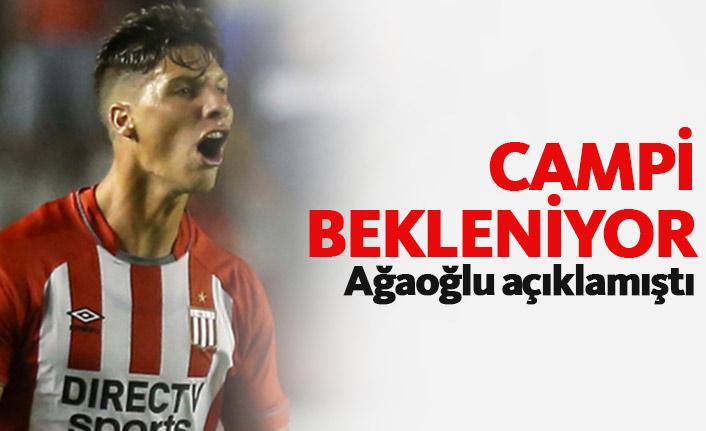Trabzonspor'da Gaston Campi bekleniyor