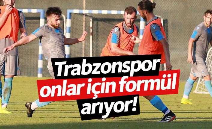 Trabzonspor kadroya alamayacağı isimlere formül arıyor