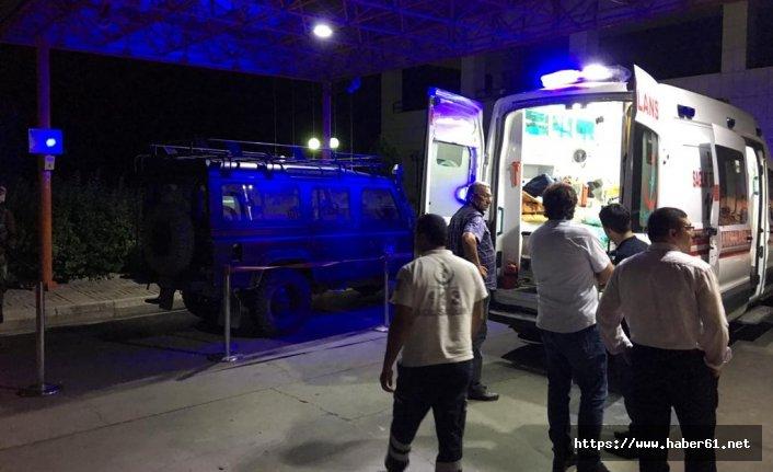Samsun'dan yola çıkan özel harekatçılar kaza yaptı