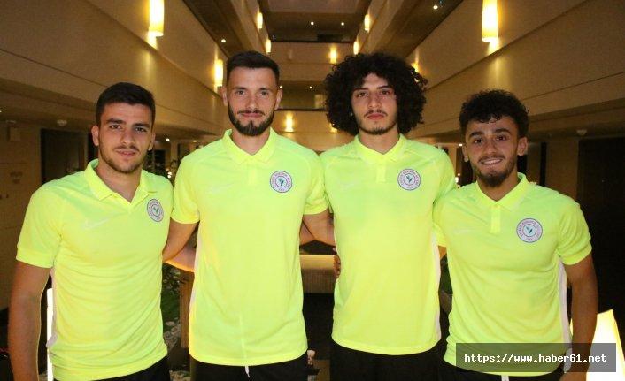 Rizespor'da yeni transferler kampa katıldı