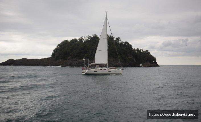 Yunanistan'dan yola çıktılar Giresun adasına vardılar!