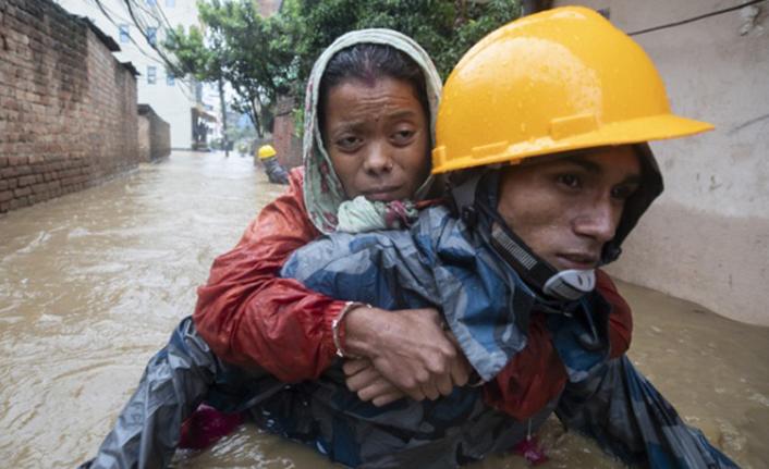 Nepal'de felaket 50 can aldı!