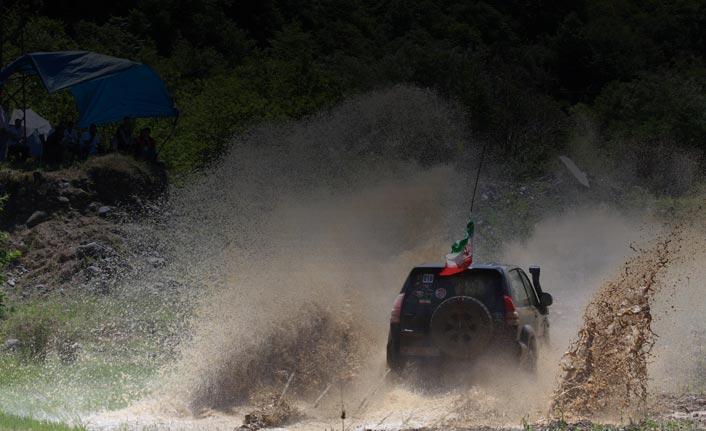 Rize'de Off-Road yarışları nefes kesti