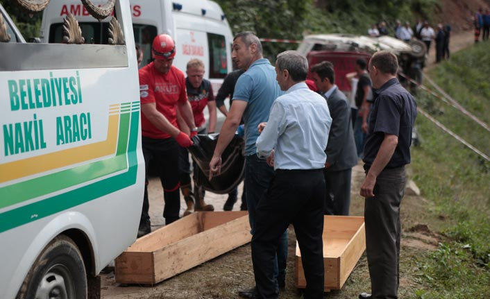 Giresun'da kazada ölenlerin kimlikleri belli oldu
