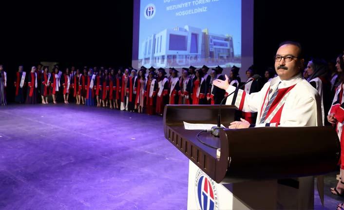 GAÜ'de mezuniyet heyecanı | Gaziantep haberleri