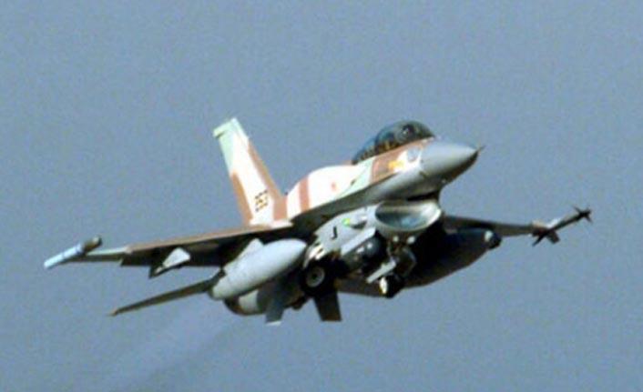 İsrail ordusuna ait uçak Gazze'de düştü