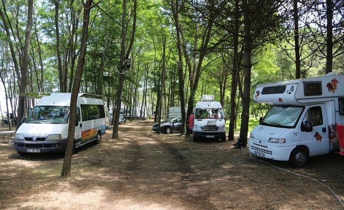 Ordu'da karavan turizmi başladı