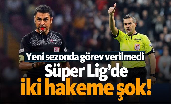Süper Lig'de iki hakeme şok! İşte yeni sezonda hakem ve gözlemci klasmanları