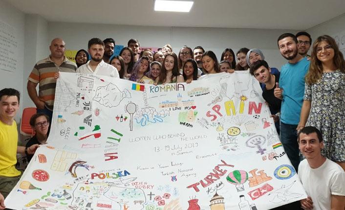 Avrupalı gençler Samsun'a geldi | Samsun Haberleri