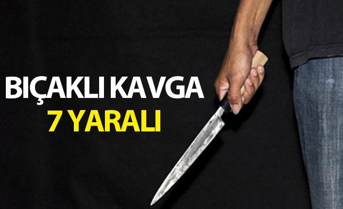 Ordu'da bıçaklı kavga: 7 yaralı