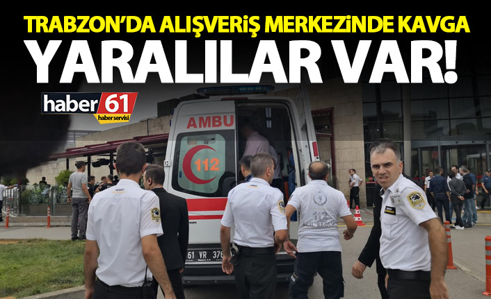 Trabzon'da bir cafede kavga! Ortalık bir anda karıştı