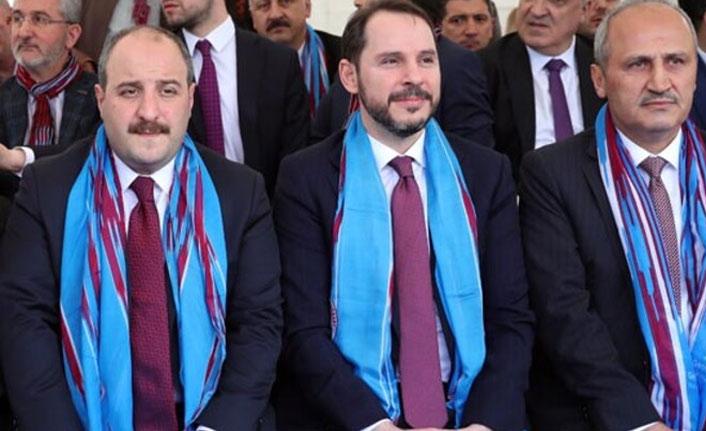 Trabzonlu Bakan Mustafa Varank'tan 61 forma