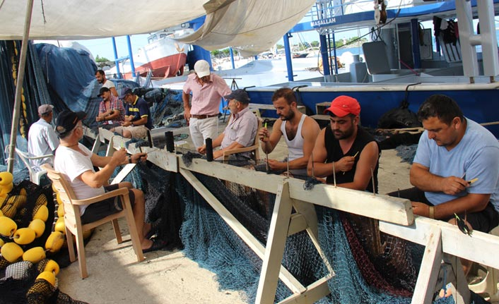 Balıkçıların 1 Eylül hazırlığı