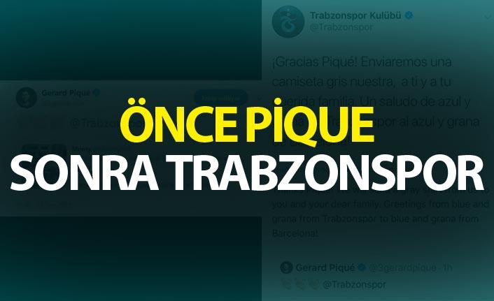 Önce Pique sonra Trabzonspor