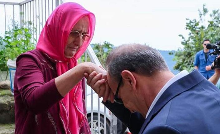 Ordu Valisi Yavuz'dan, Kıbrıs şehidinin eşine ziyaret | Ordu Haberleri