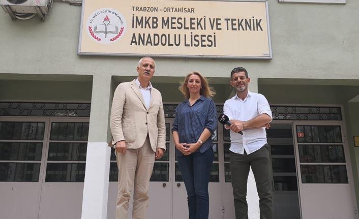 Türkiye genelinde yapılan projeye Trabzon'da İMKB MTAL seçildi