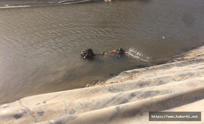 İkizler sulama göletinde boğuldıular