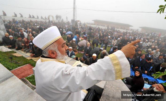 Karadeniz'deki camide 557 yıllık gelenek yaşatılıyor