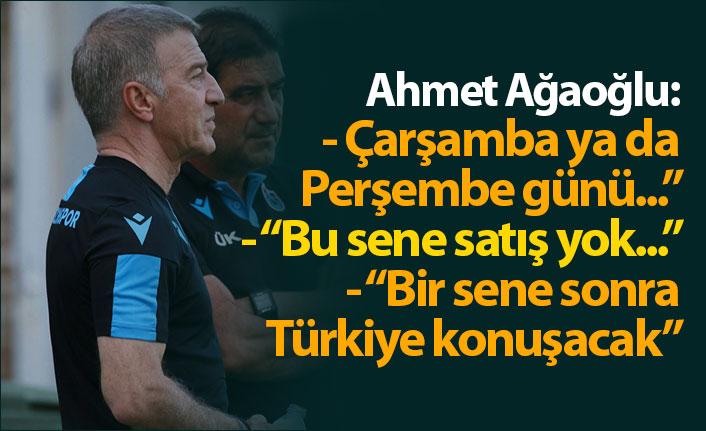 "Ahmet Ağaoğlu: ""Çarşamba ya da Perşembe günü..."""