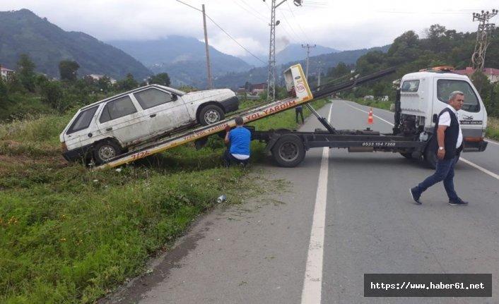 Artvin'de hurda araçlar toplandı