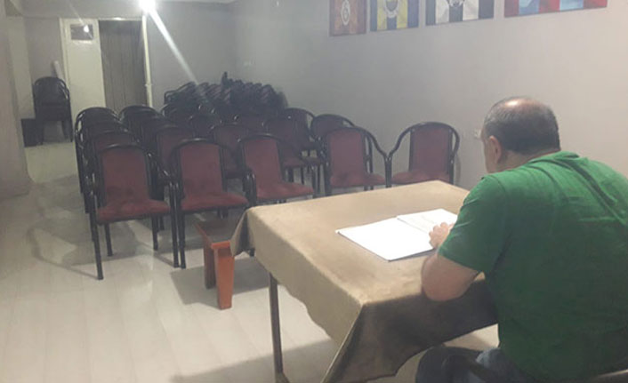 Kulübün kongresine sadece başkan katıldı