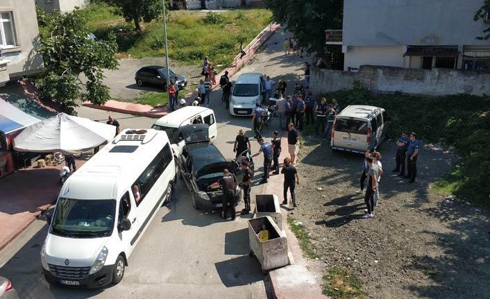 Uygulamada polisten kaçtı - Polise çarparak durdu