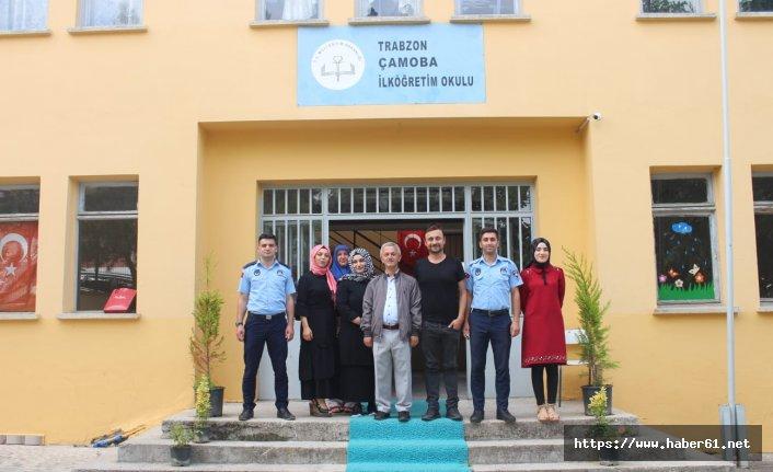 Trabzon'da dilenci çocuklara umut oldular