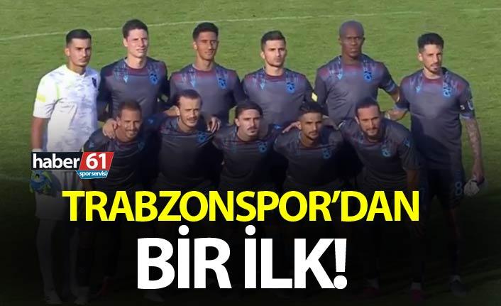 Trabzonspor'dan bir ilk
