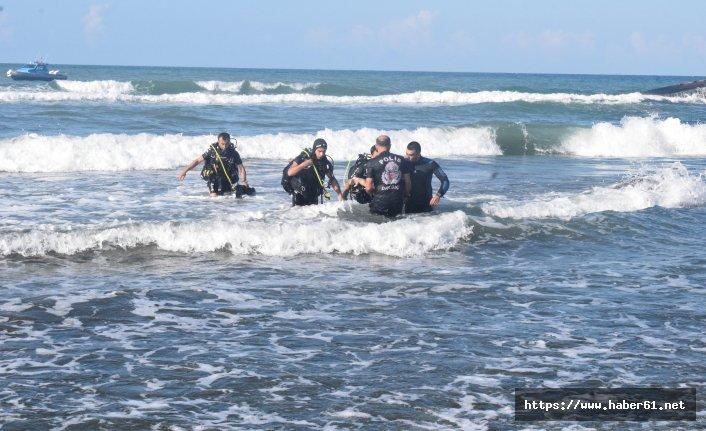 Oğluyla birlikte denize giren baba boğuldu